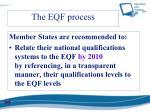 the eqf process