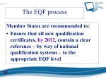 the eqf process1