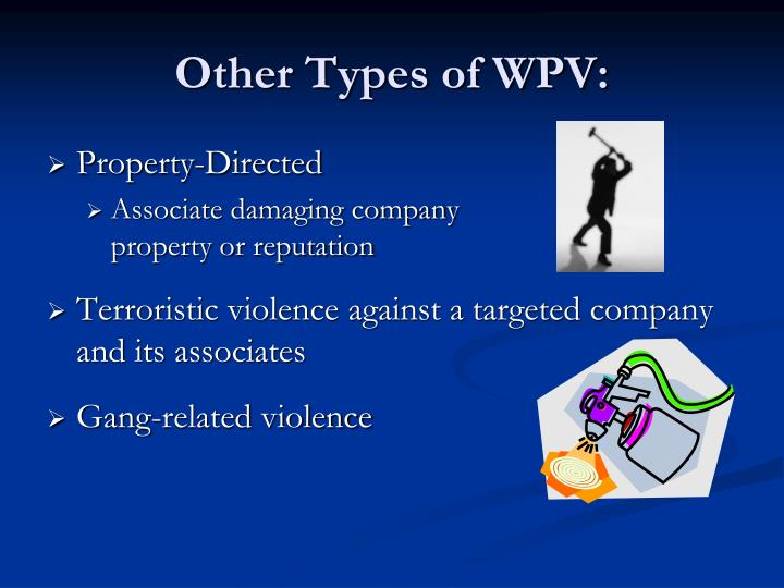 Other Types of WPV: