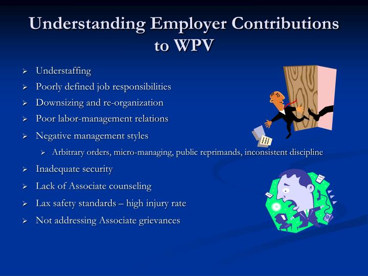 Understanding Employer Contributions to WPV