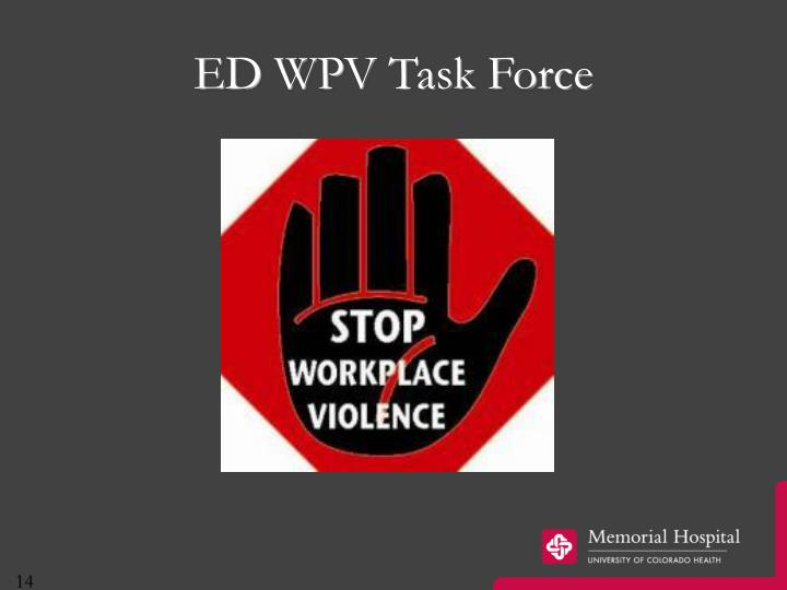 ED WPV Task Force