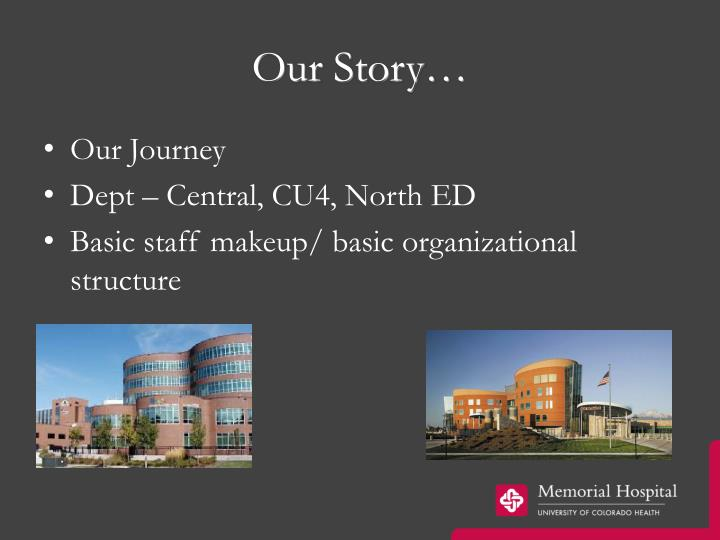 Our Story…