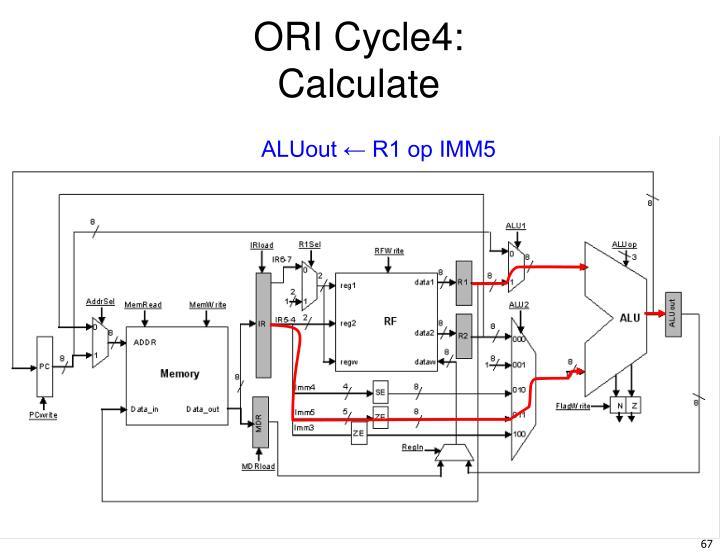 ORI Cycle4: