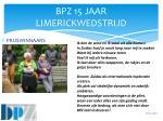 bpz 15 jaar limerickwedstrijd