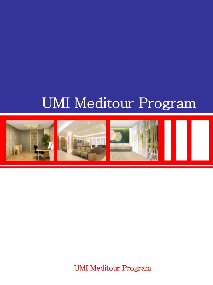 UMI Meditour Program