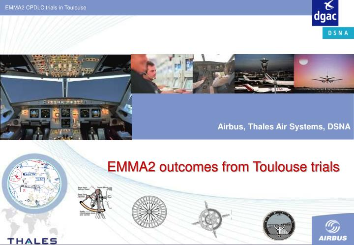 emma2 outcomes from toulouse trials n.