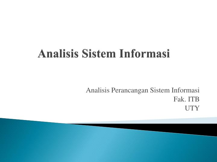 analisis sistem informasi n.