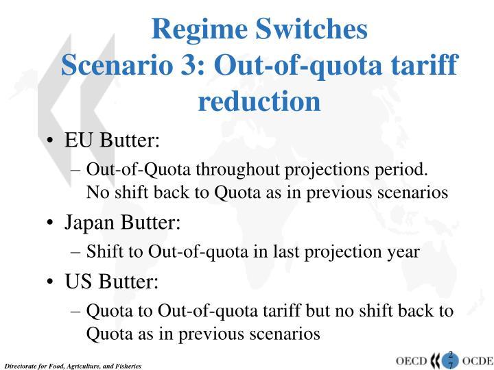 Regime Switches