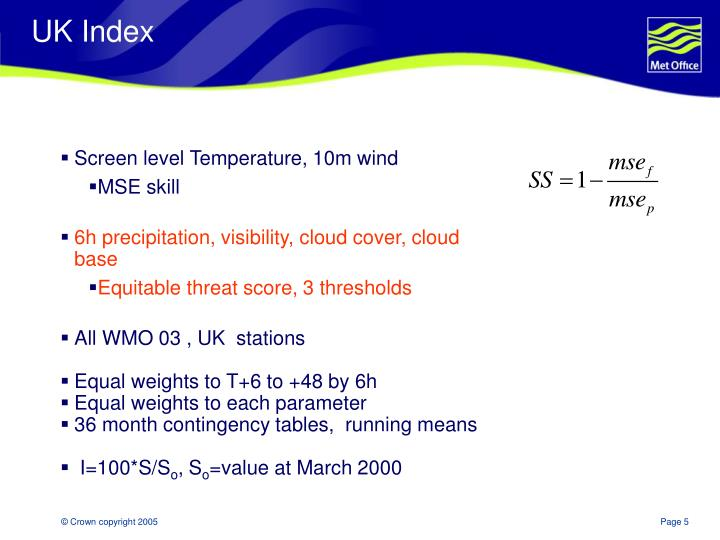 UK Index