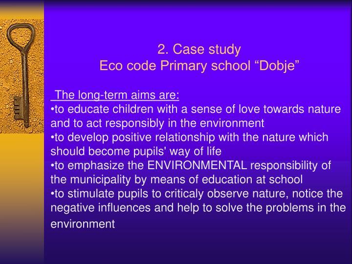 2. Case study