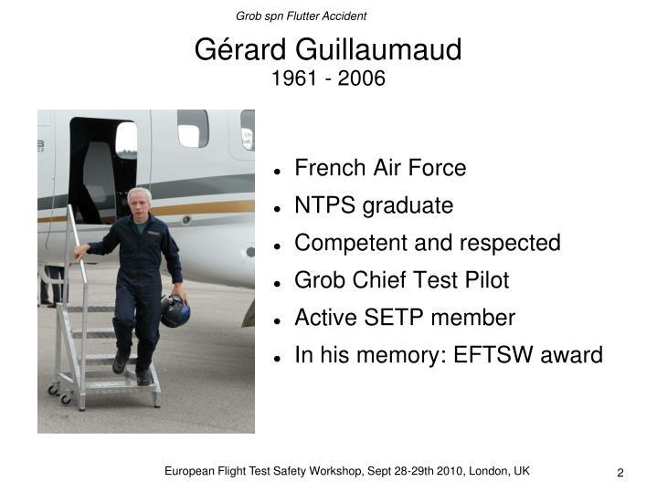 G rard guillaumaud 1961 2006