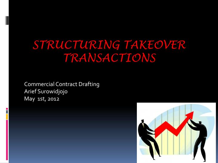 commercial contract drafting arief surowidjojo may 1st 2012 n.
