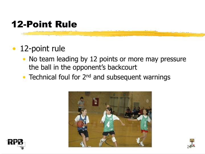 12-Point Rule