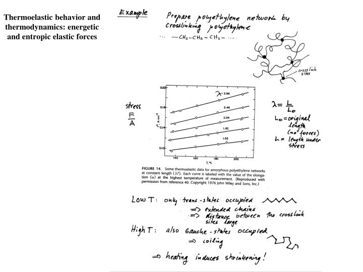 Ppt Chapter 9 Cross Linked Polymers And Rubber