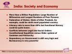 india society and economy
