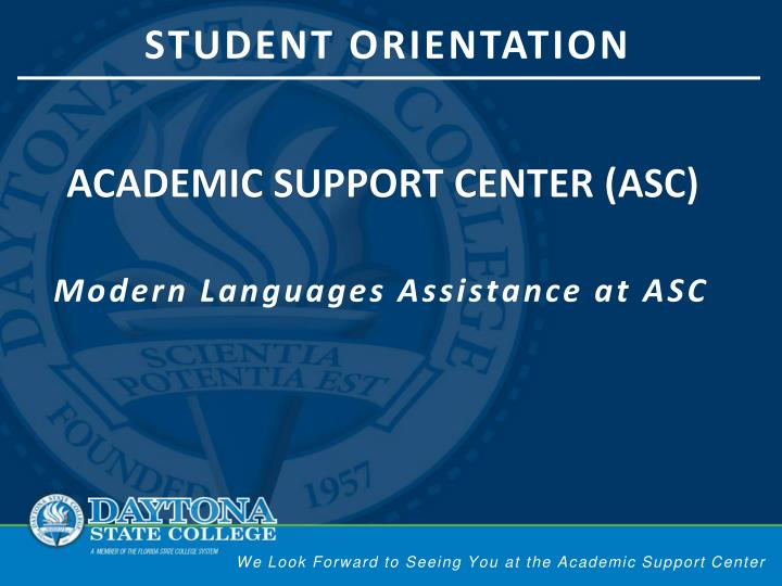 academic support center asc n.