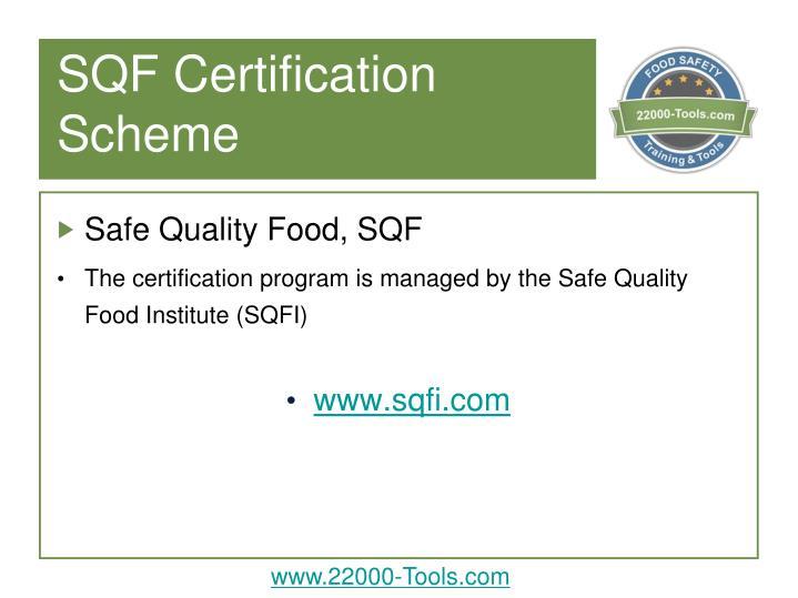 Sqf certification scheme1
