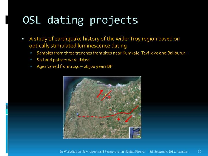 osl dating in archaeology