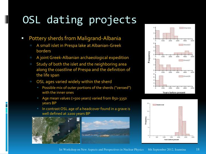 Osl dating ppt template
