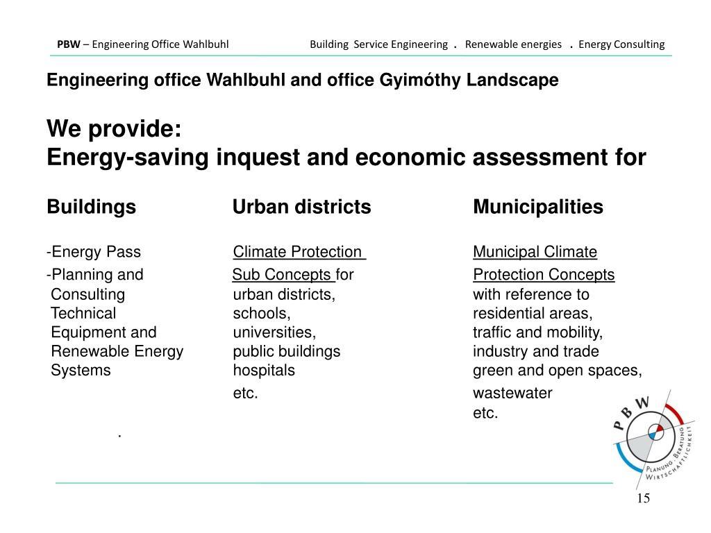 PPT - Energy Efficiency - Energy Saving - Renewable Energy