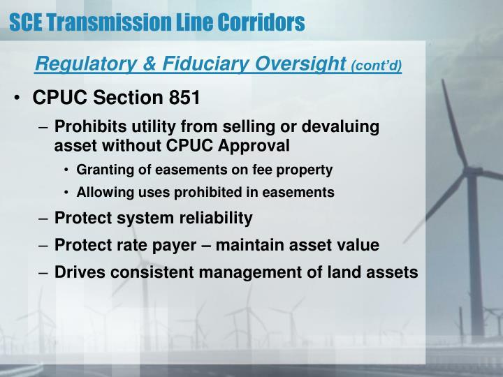 Regulatory & Fiduciary Oversight