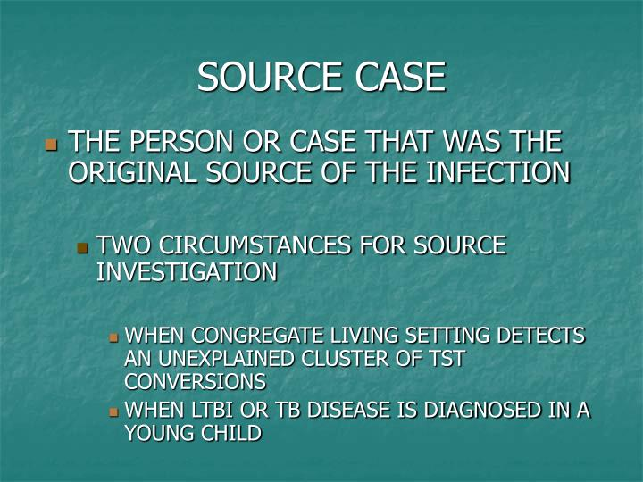 SOURCE CASE