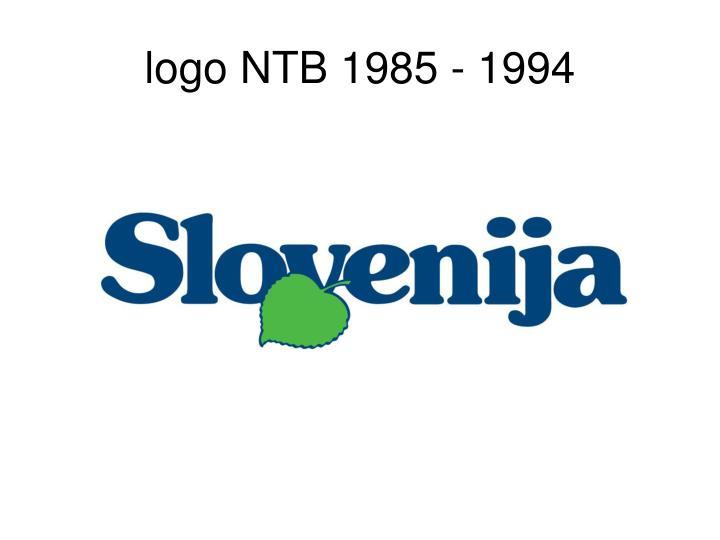 logo NTB 1985