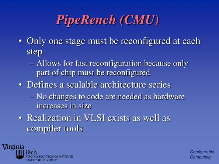 PipeRench (CMU)