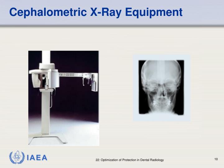 Cephalometric X-Ray Equipment