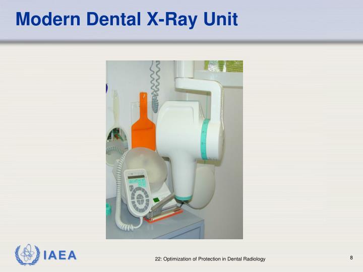 Modern Dental X-Ray Unit
