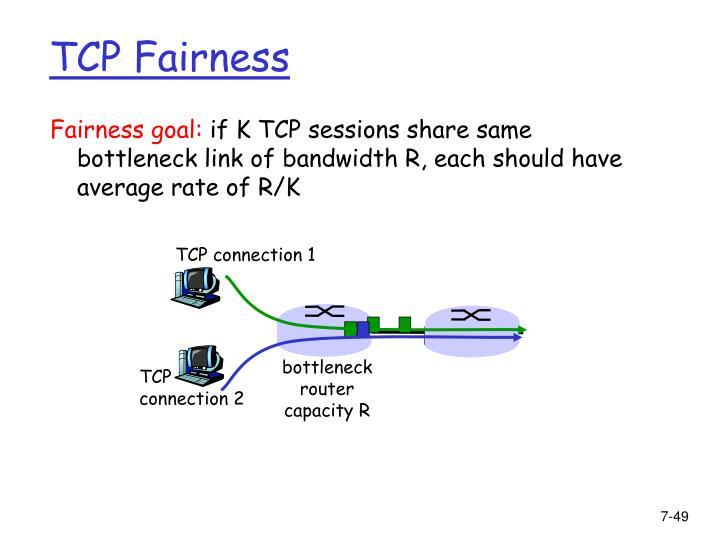 Fairness goal: