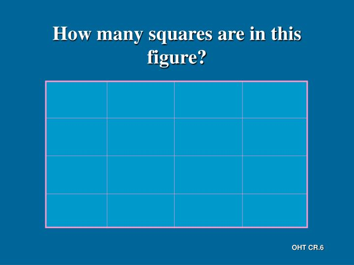 How many squares are in this figure?