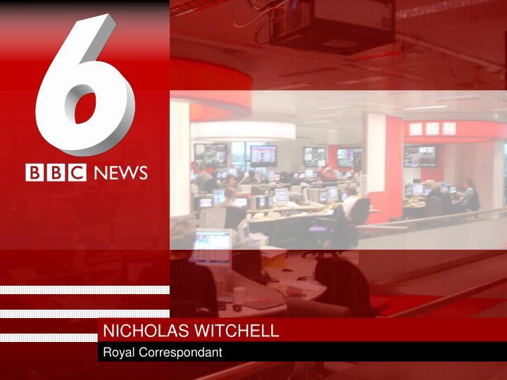 NICHOLAS WITCHELL