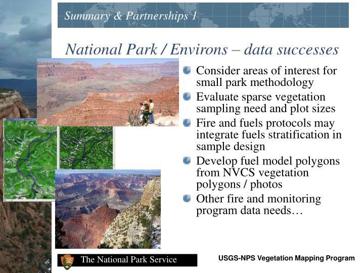Summary & Partnerships 1