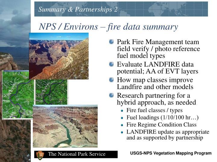 Summary & Partnerships 2