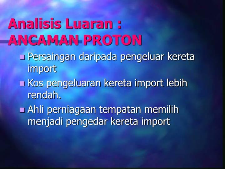 Analisis Luaran :