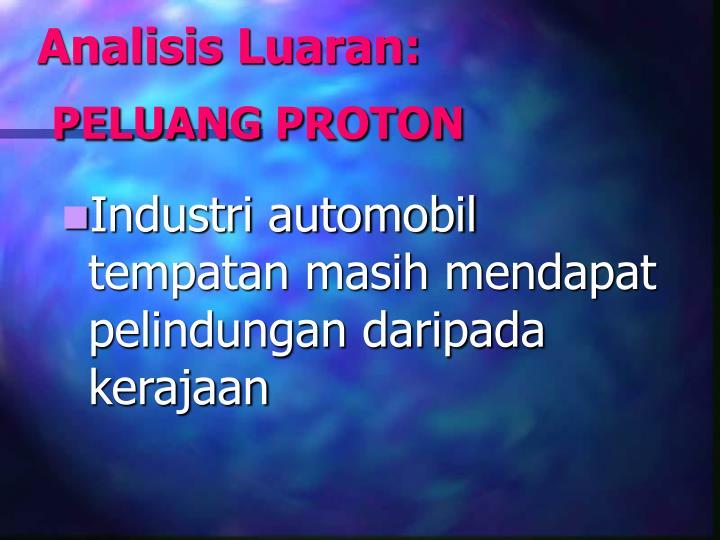 Analisis Luaran: