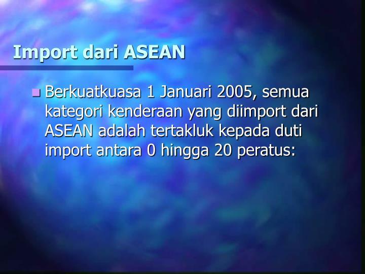 Import dari ASEAN