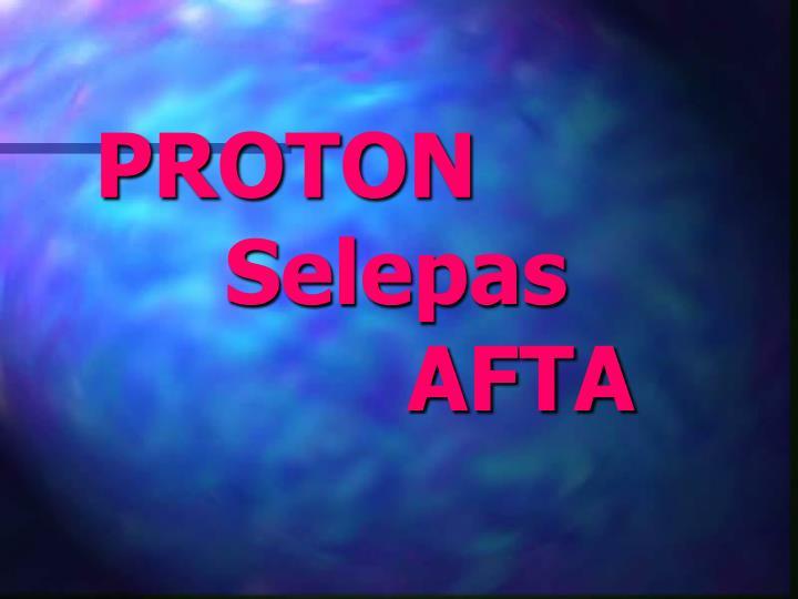 Proton selepas afta