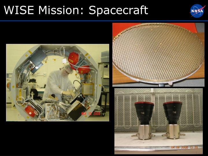 WISE Mission: Spacecraft
