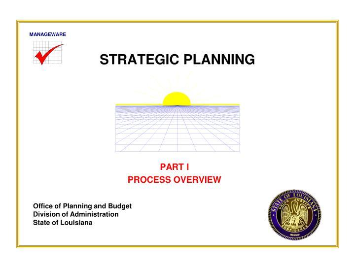 strategic planning n.