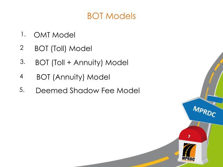 BOT Models