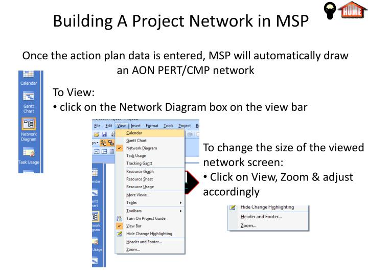 Ppt Microsoft Project Tutorial For Chapters 4 Amp 5 Powerpoint