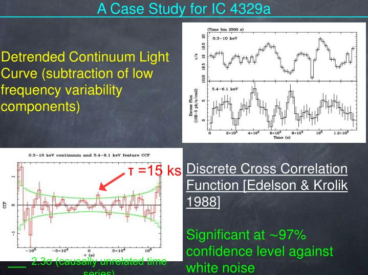 A Case Study for IC 4329a