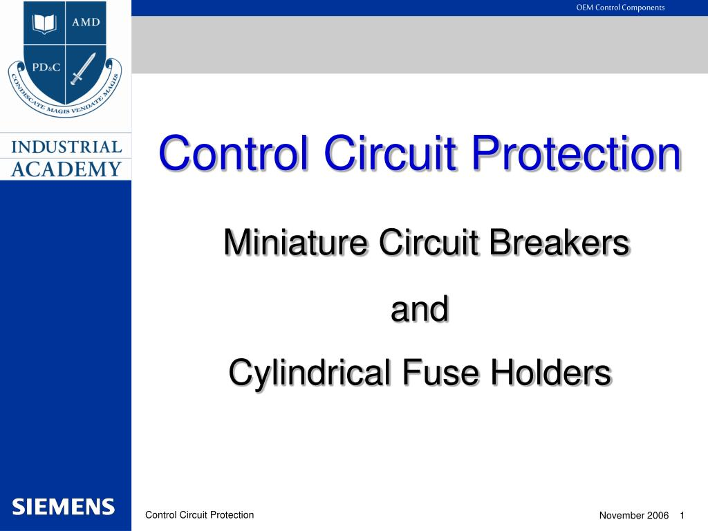 Ppt Control Circuit Protection Miniature Breakers And Details About Breaker Thermal Pcb 5a Cylindrical Fuse Holders Powerpoint Presentation Id3424324