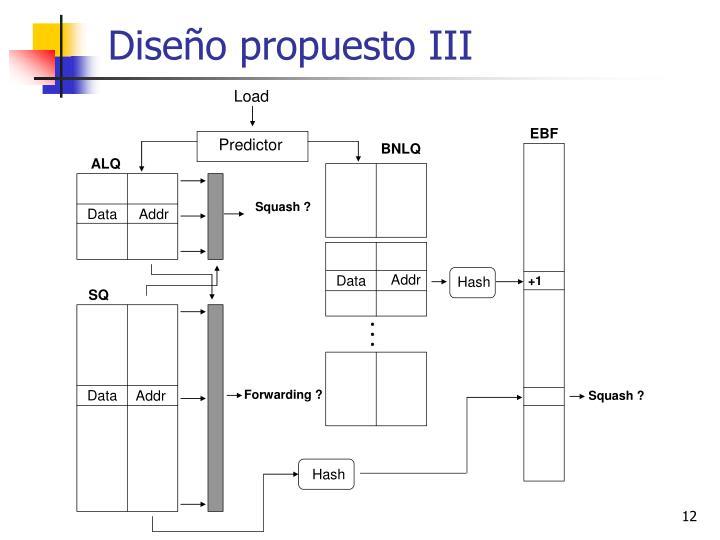 Diseño propuesto III