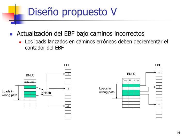 Diseño propuesto V