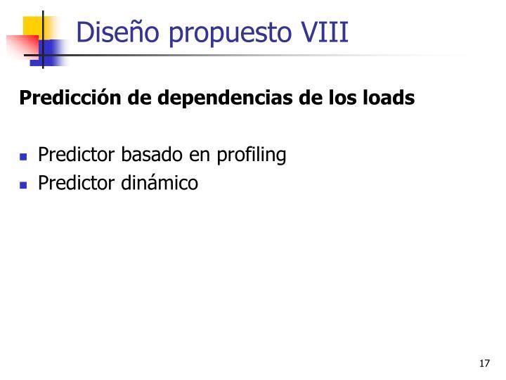 Diseño propuesto VIII