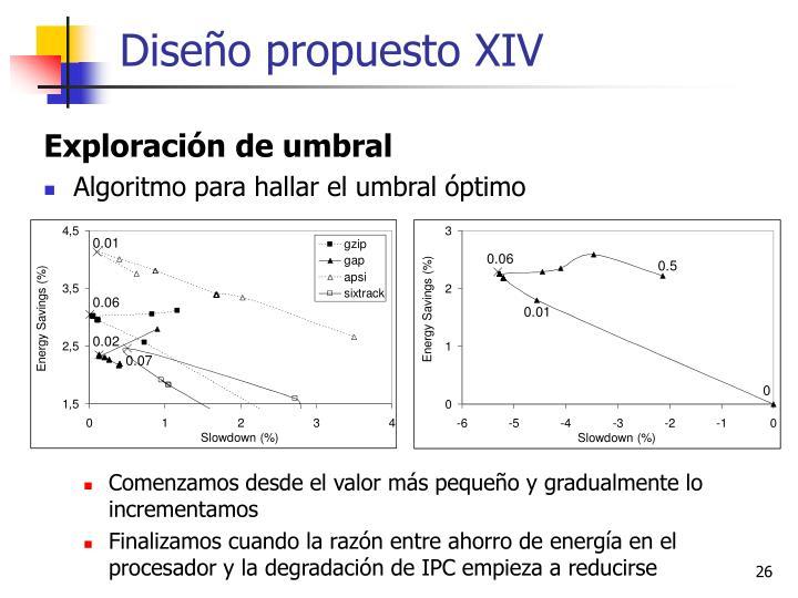 Diseño propuesto XIV