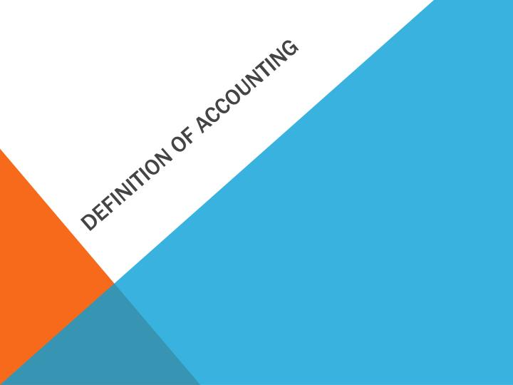 definition of accounting n.